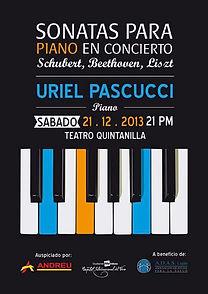 Uriel Pascucci, Teatro Quintanilla, Mendoza, Argentina