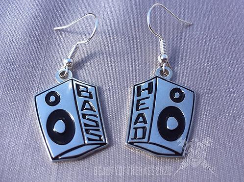 Bass Head earrings.