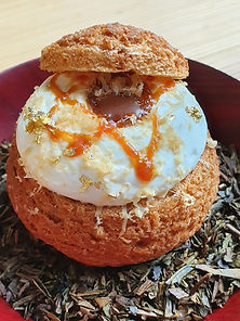Hojicha Cream Puff.jpg