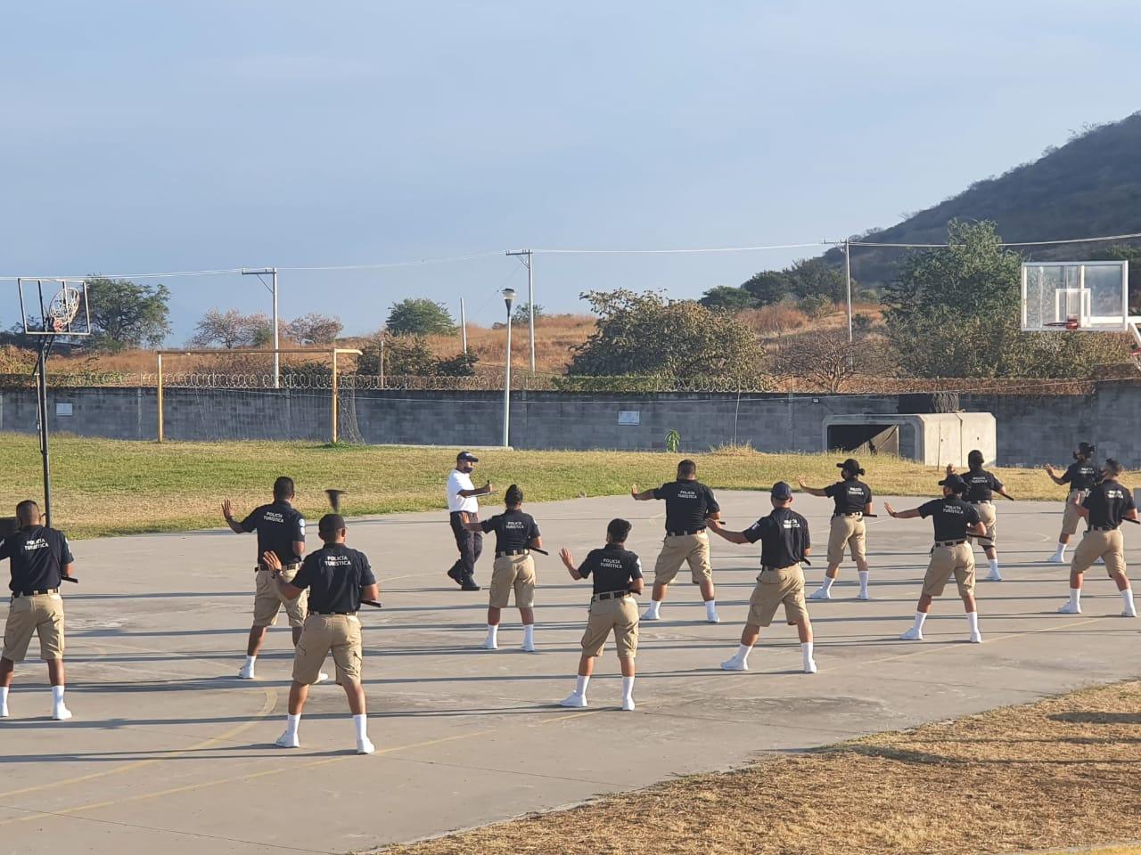 Formación Inicial Policía Preventivo.