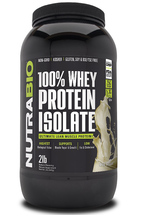 Whey Protein Isolate 2 Pounds - Alpine Vanilla