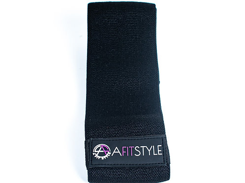 A Fit Style- Black Band with Non-Slip & Non-Rolling Technology