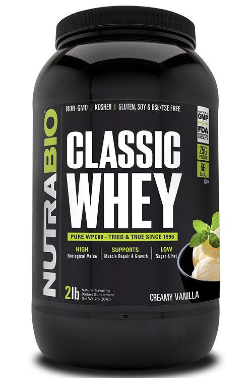 Classic Whey Protein (WPC80) 2 lb - Creamy Vanilla