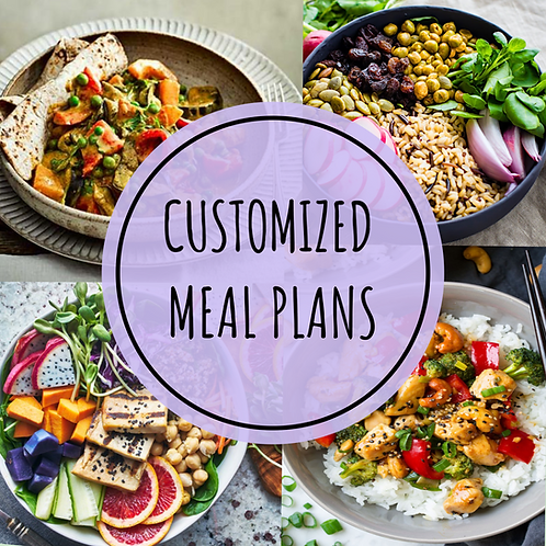 3 Day Customized Meal Plan