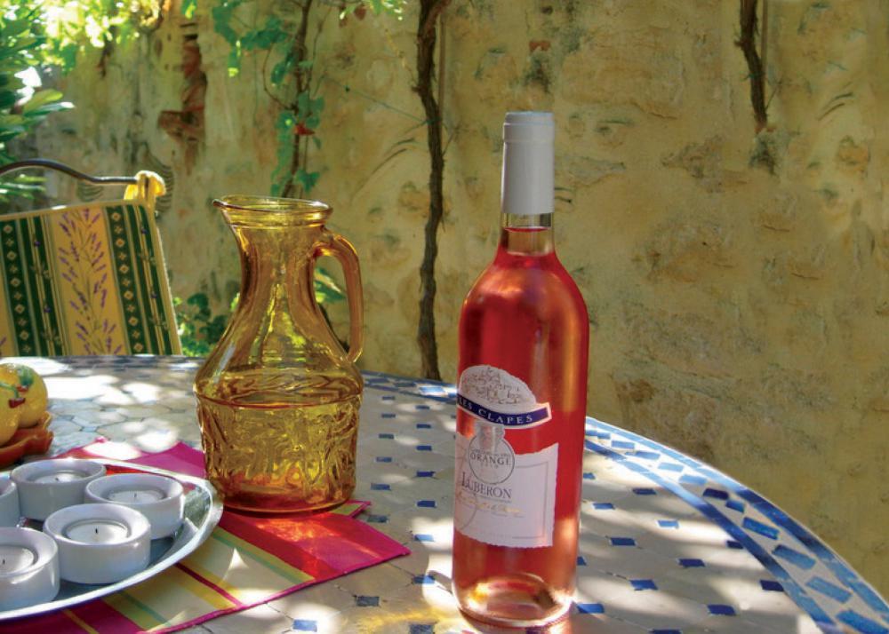 Wine Rose - France