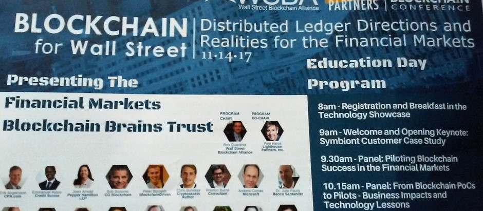 In the Media: BlockchainDriven on Wall St