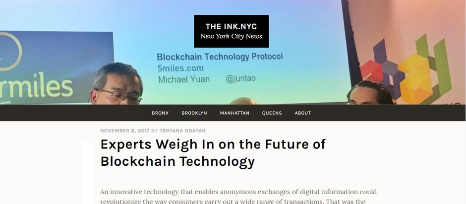 BlockchainDriven in the Media: Blockchain Experts Weigh In