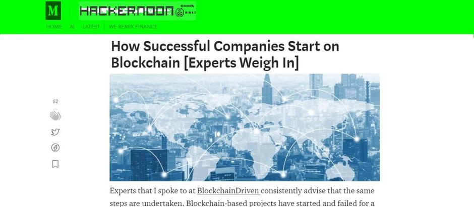 HackerNoon Asks BlockchainDriven