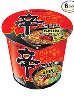 nong shin spicy noodles cup