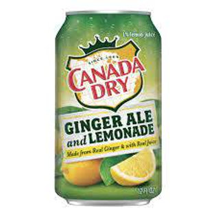 canada dry  lemonade and GINGER ALE