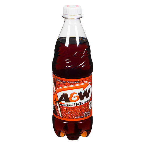 A&W Root Bear bottle