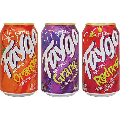 Faygo Canned Soda