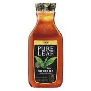 pure leaf lemon ice tea bottle