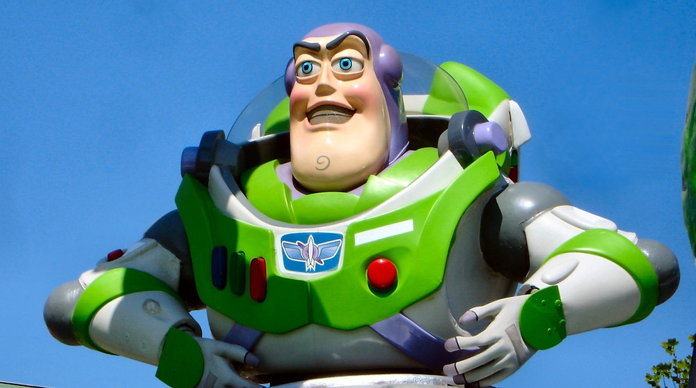 """Sheriff, this is no time to panic."" – Buzz Lightyear"