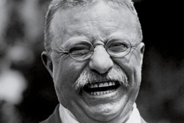 Roosevelt was able to have a good laugh, even after some significant setbacks