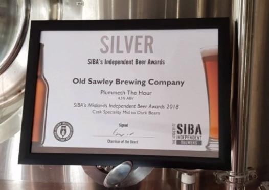 Plummeth the Hour, SIBA Award, award winning brewer