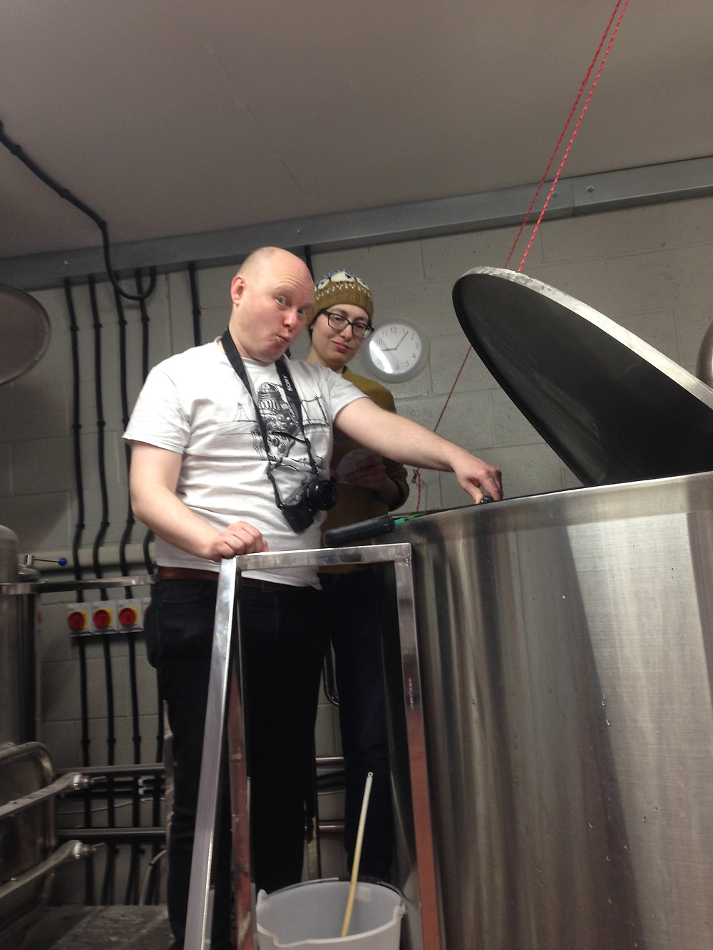 mash tun, british brewery, brewing experience, brew your own beer, old sawley