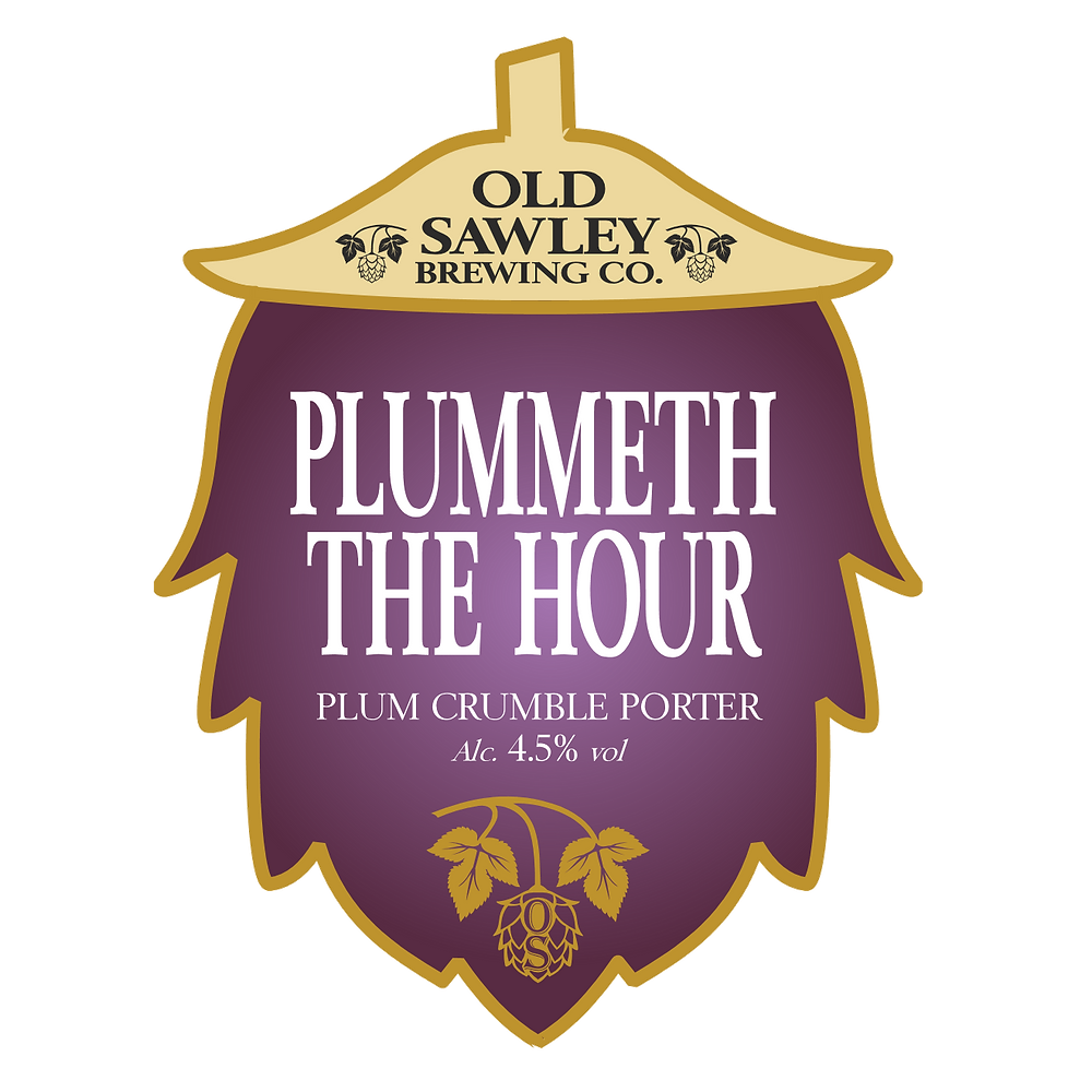 award winning beer, Plummeth the Hour, SIBA winner