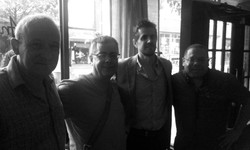At Analogue with Carlos from Puerto Rico, Paul Gill and Zaid June 23, 2014