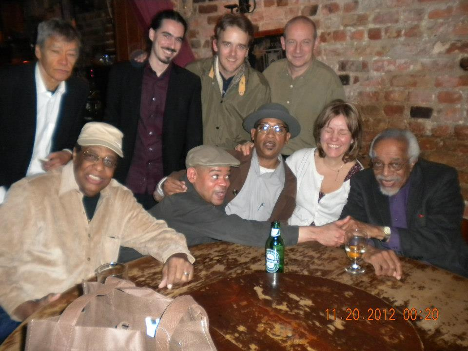 At 11th Street Bar with Barry Harris, Charles Davis and friends