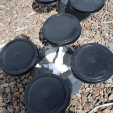 Aerator top view
