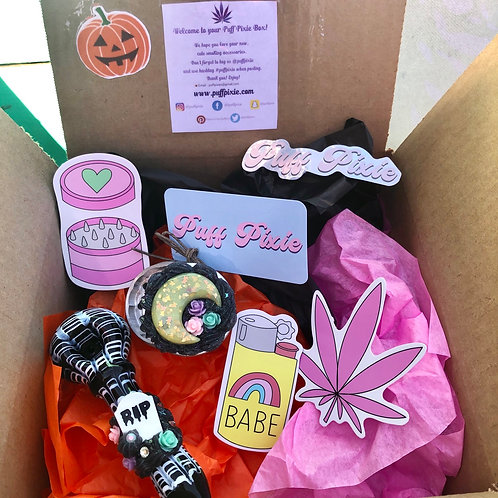 Puff Pixie Halloween Box