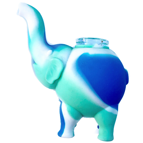 Blue and Green Epic Elephant Piece