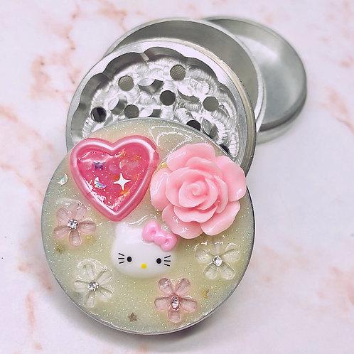Fantasy Cute Cat Pink Grinding Tool