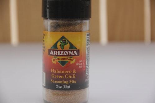 Arizona Habanero & Green Chili Seasoning Mix