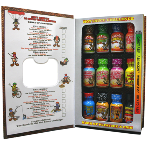 Hot Sauce Challenge Book of Pleasure & Pain