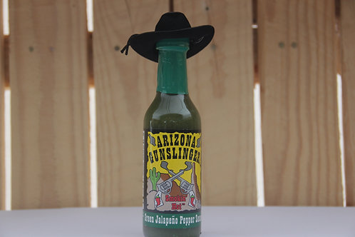 AZ Gunslinger Green Jalapeno Pepper Sauce
