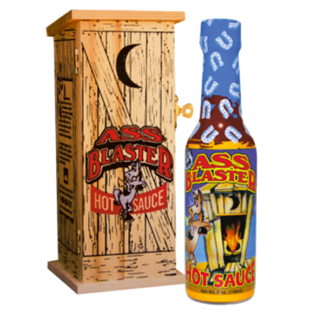 Ass Blaster Hot Sauce w/Outhouse