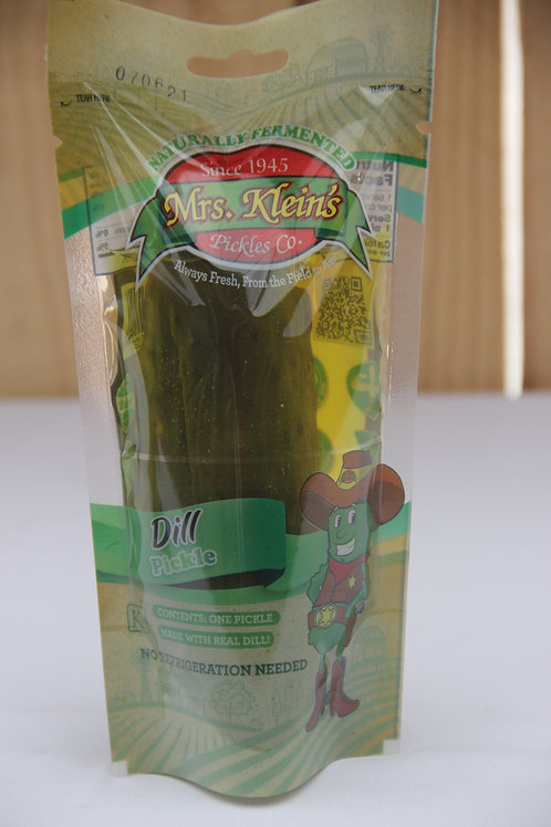 Mrs. Klein's Single Serve Dill Pickle