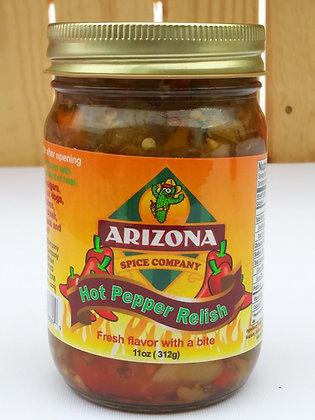 Arizona Hot Pepper Relish