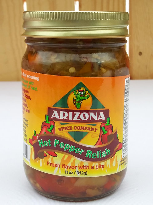 Arizona Hot Pepper Relish