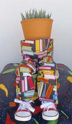 School & Teacher Potted Pants - Mini