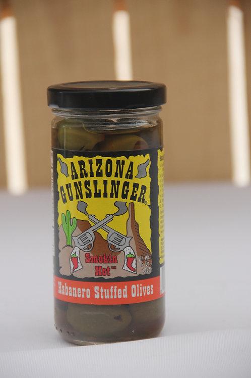 AZ Gunslinger Habanero Stuffed Olives