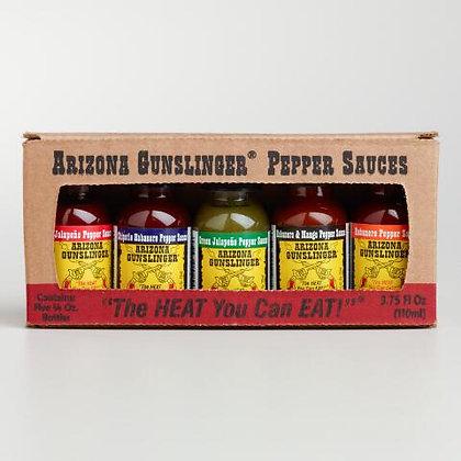 Arizona 5 Pack Variety Hot Sauce Carton