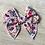 Thumbnail: Garden Floral hand tied Sailor bow