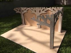 Linden Lodge Tree Model