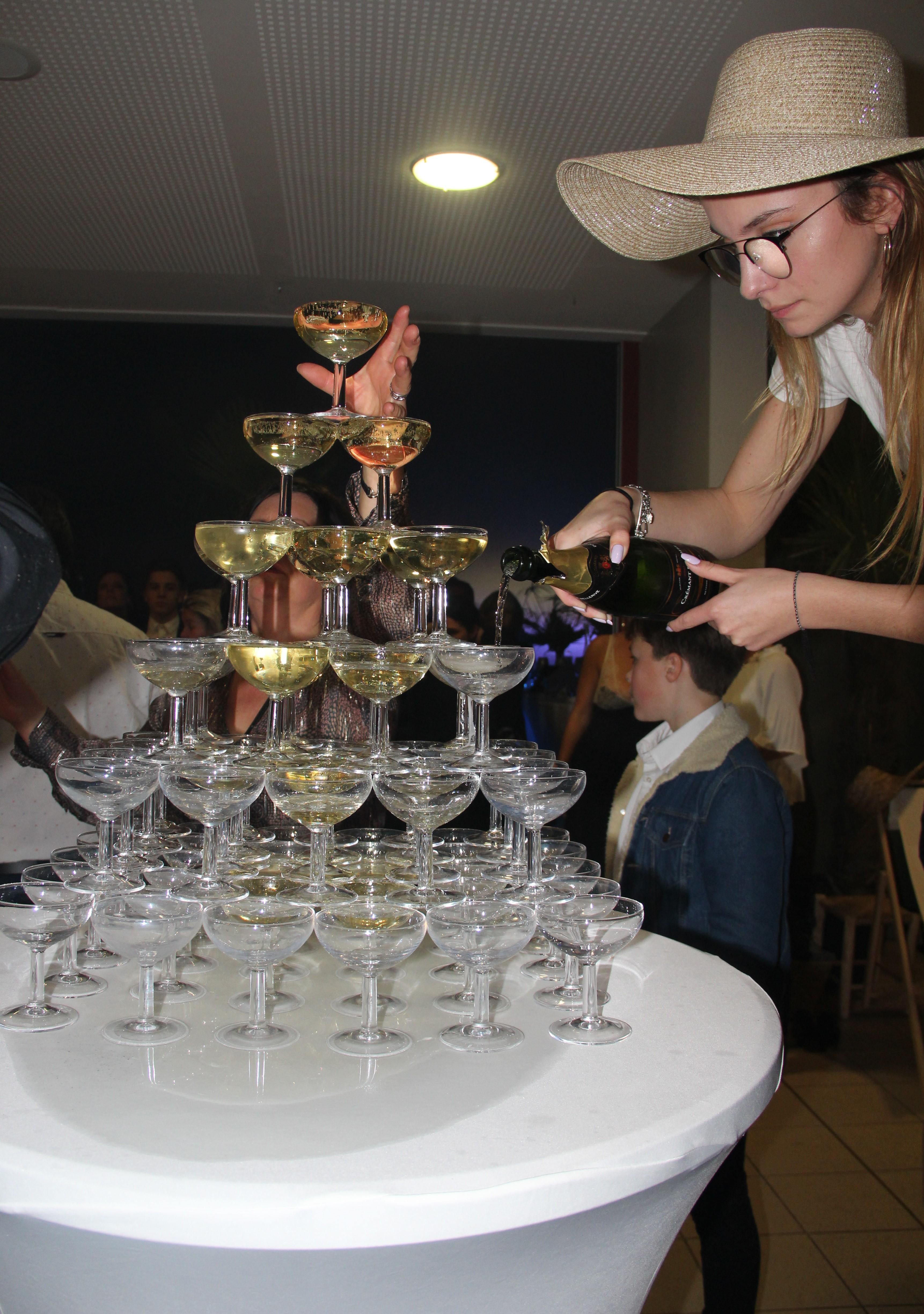 Cascade champagne