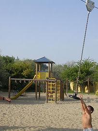parco giochi spiaggia