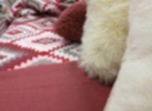 Heimtextilien Decken Pölster Schaffell