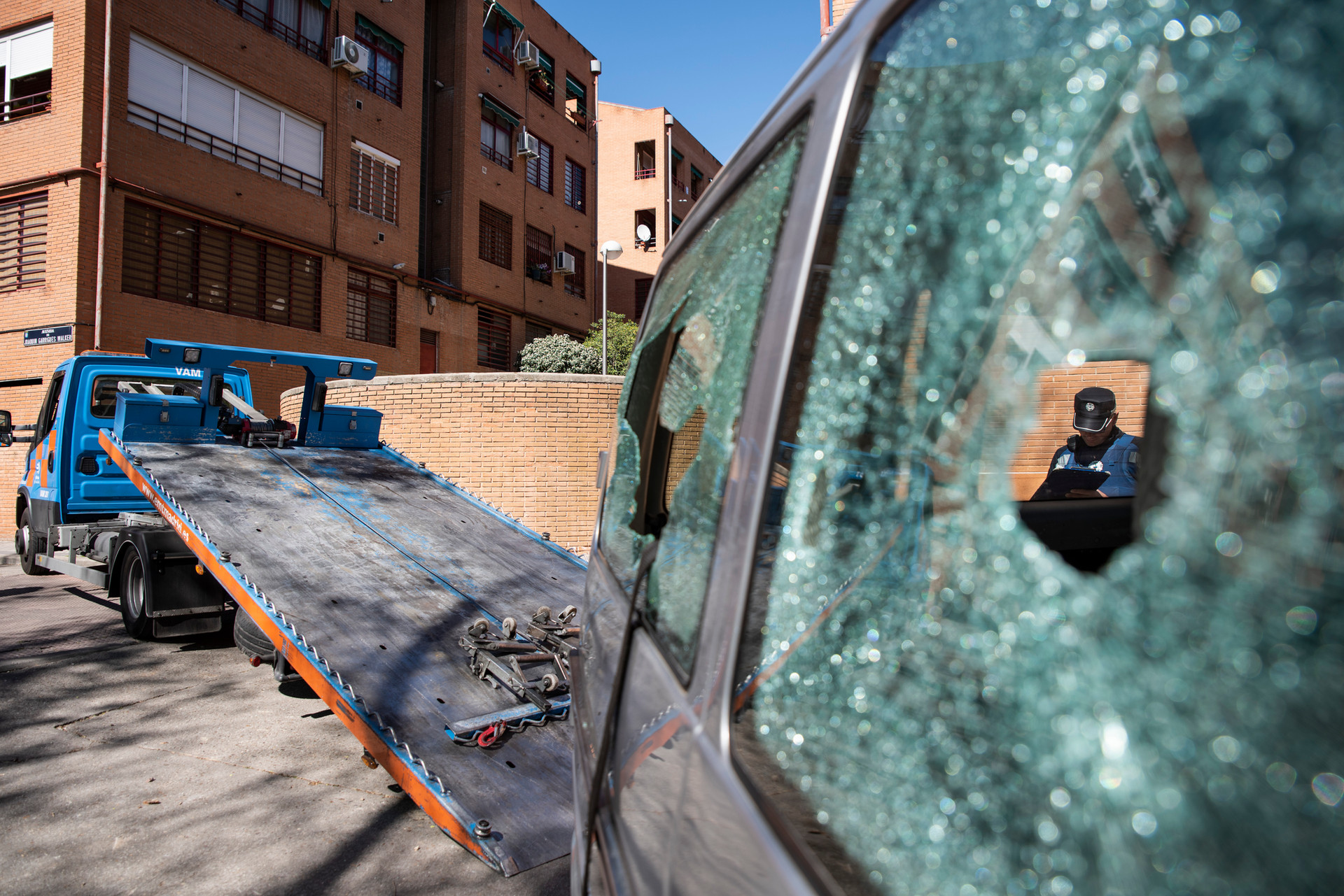 Disturbios en El Pozo por el asesinato de un vecino