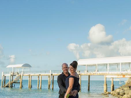 Sandra and Chris Beautiful Coral Sea Wedding