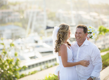 Rani and Mark's Intimate Beach Wedding
