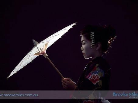 Geisha Shoot.. Japanese Inspired in Airlie Beach!