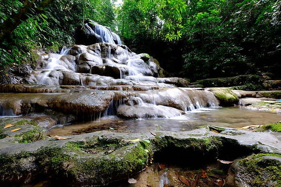 Waterfalls Palenque, Mexico