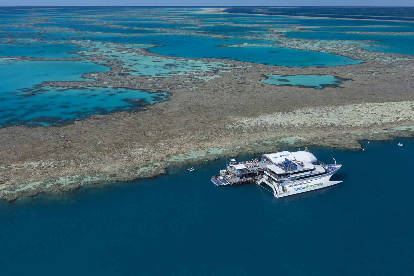 Cruise Whitsundays Great Barrier Reef Commercial Marketing Photography by Brooke Miles