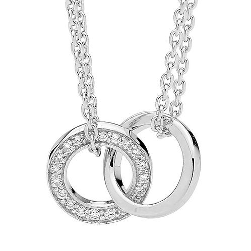 Tied Rings Pendant - P597